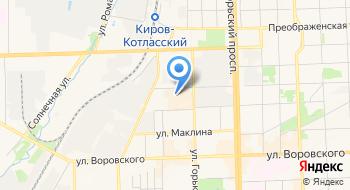 Киномакс-Киров на карте