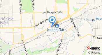 Управление специальной связи по Кировской области Производственный отдел на карте