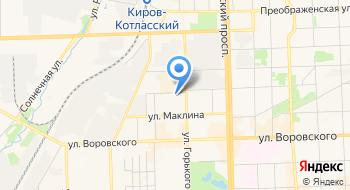 НП СРО Объединение строителей Кировской области на карте