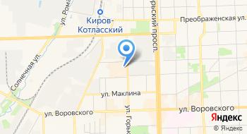 Независимая регистраторская компания Кировский филиал на карте