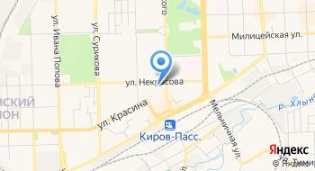 ФКУ ГБ МСЭ по Кировской области Бюро №17 на карте