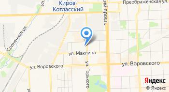 Управление связи на карте