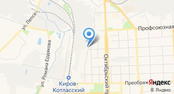 Кировский машзавод 1 Мая на карте