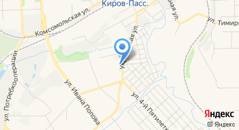 Кировская лесосеменная станция, Отдел Нижегородского центра защиты леса на карте