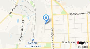 Центр управления в кризисных ситуациях МЧС России по Кировской области на карте