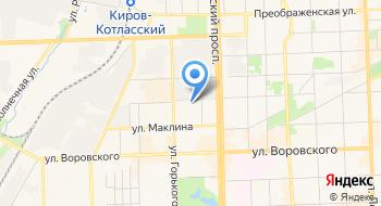 Институт развития современных образовательных технологий ИРСОТ, Кировское представительство на карте