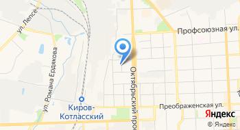 Кировский региональный центр деловой информации на карте