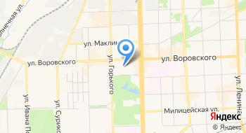 Арена, Боулинг-клуб на карте