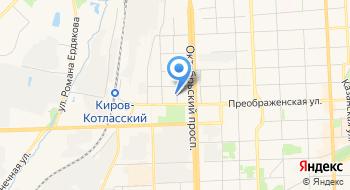 ТО МФЦ по Октябрьскому району города Кирова на карте