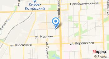 Чу ДПО Вятская торгово-промышленная палата Учебно-деловой центр на карте