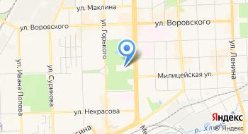 Кировский государственный цирк на карте