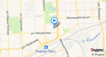 Отделенческая клиническая больница на ст. Киров РЖД, Негосударственное учреждение здравоохранения на карте