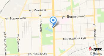 Hilton Garden Inn Kirov на карте