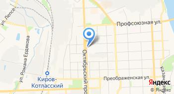 Отдел трудоустройства КОГКУ центр занятости населения города Кирова на карте