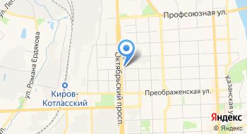 Кировский городской центр слуха на карте