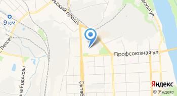 КОГАОУ ДОД Детско-юношеская спортивная школа Юность на карте