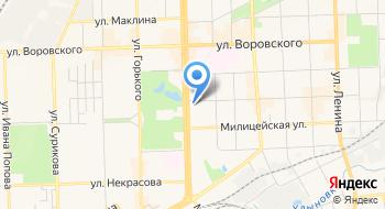 Центр электронных коммуникаций на карте