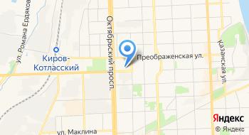УФК по Кировской области на карте