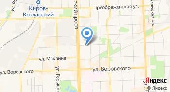 Отделение почтовой связи Киров 610017 на карте