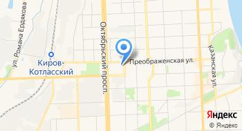 Агропромышленный союз товаропроизводителей Кировской области на карте