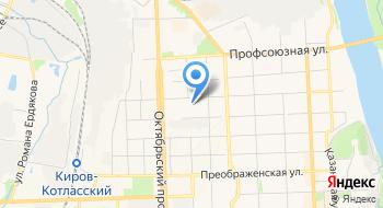 Следственное управление Следственного комитета РФ по Кировской области на карте