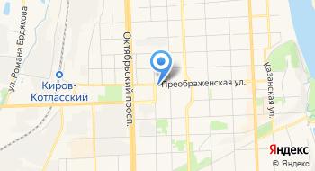 Кировский облпотребсоюз на карте
