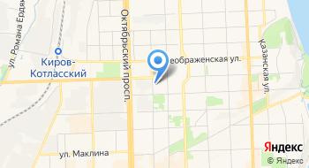 Информационная система Гис-Киров на карте