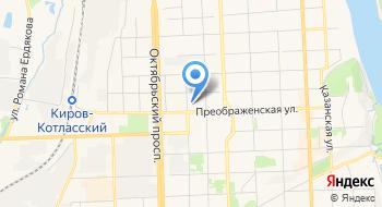 Экспертно-аналитический центр ГЖИ Кировской области на карте
