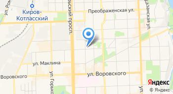 Кировская региональная общественная организация сотрудников правоохранительных органов Юридический центр на карте