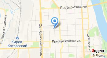 Комитекс-Киров на карте