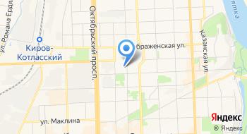 Нотариус Кировского нотариального округа на карте