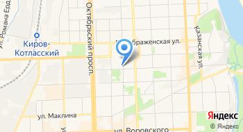 Вятский художественный музей имени В.М. и А.М. Васнецовых Выставочный зал на карте