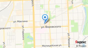 Территория связи, офис на карте