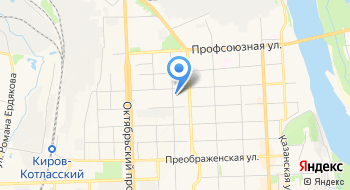 Кировское региональное отделение политической партии Патриоты России на карте