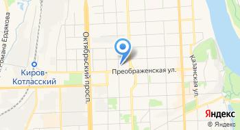 Офисный центр на карте