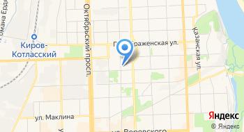 ВятГУ, политехнический институт на карте