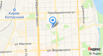 Когбуз Кировская клиническая стоматологическая поликлиника на карте