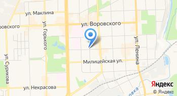 УФМС России по Кировской области Отдел адресно-справочной работы на карте