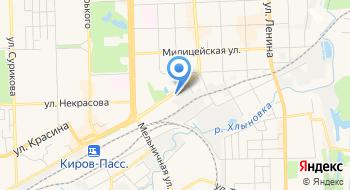 Ресторан Хлынов на карте