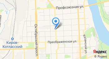 Ортопедический салон ФГУП Кировское Проп Минтруда России на карте