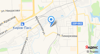 Пункт техосмотра на карте