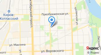Совкомбанк ПАО, Кредитно-кассовый офис Кировский на карте