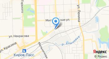 КОГКУ центр по техническому сопровождению государственных закупок на карте