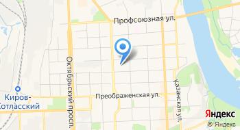 Детский сад №235 г. Кирова МКДОУ на карте