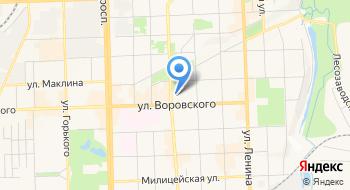 Администрация г. Кирова на карте