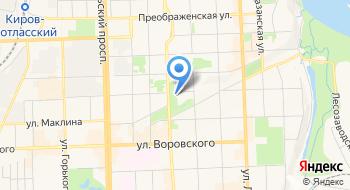 КОГБУЗ Областной гериатрический центр, поликлиника на карте