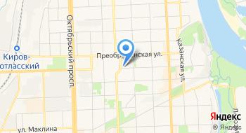МБОУ Вятская православная гимназия во имя Преподобного Трифона Вятского г. Кирова Администрация на карте
