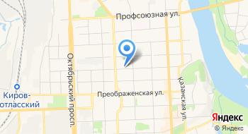 Кировское областное отделение общероссийского общественного благотворительного фонда Российский детский фонд на карте