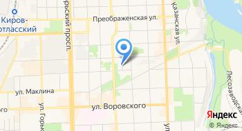 Общественная организация Кировское областное общество охотников и рыболовов на карте