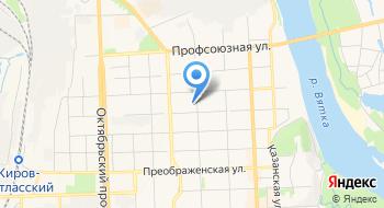 РОО Федерация фитнес-аэробики Кировской области на карте
